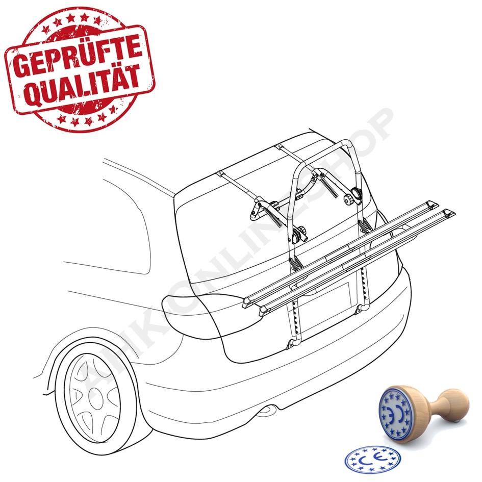 MENABO Fahrradträger Logic 2 für der Heckklappe Für Opel Astra H Fliessheck 04
