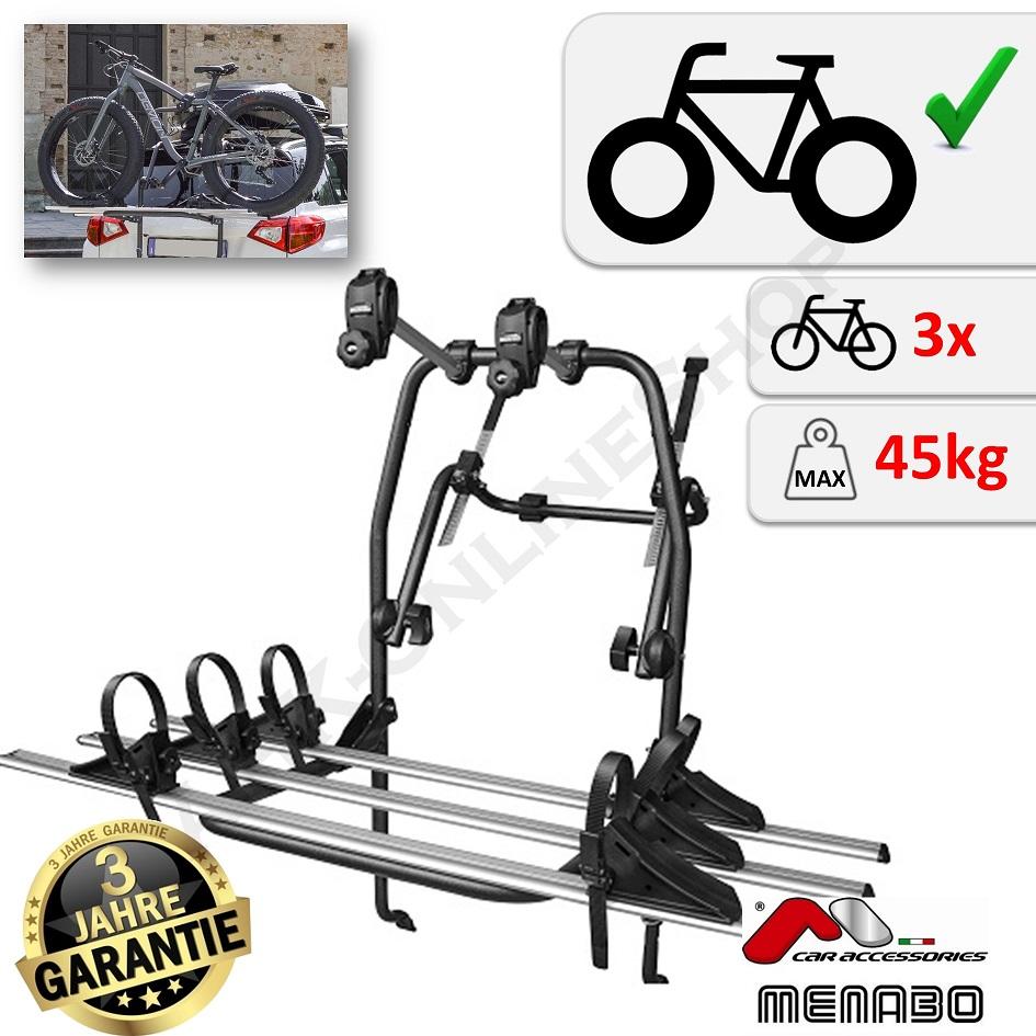 vw tiguan ii year built 2016 bike rack tailgate for 3 bikes rear rack carrier 8003168029816 ebay. Black Bedroom Furniture Sets. Home Design Ideas