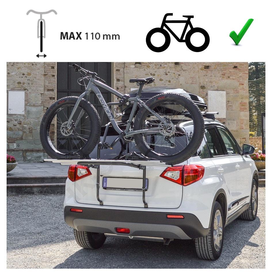 ab 2014 Fahrradträger Heckklappe für 2 Fahrräder Heckträger Ford Ecosport Bj