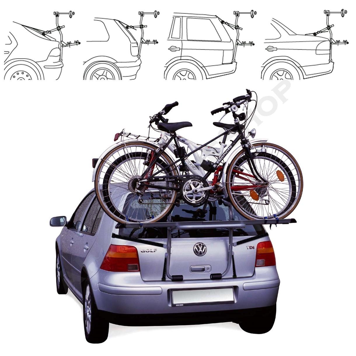 vw golf bj ab 1991 fahrradtr ger heckklappe f r 2 fahrr der hecktr ger ebay. Black Bedroom Furniture Sets. Home Design Ideas