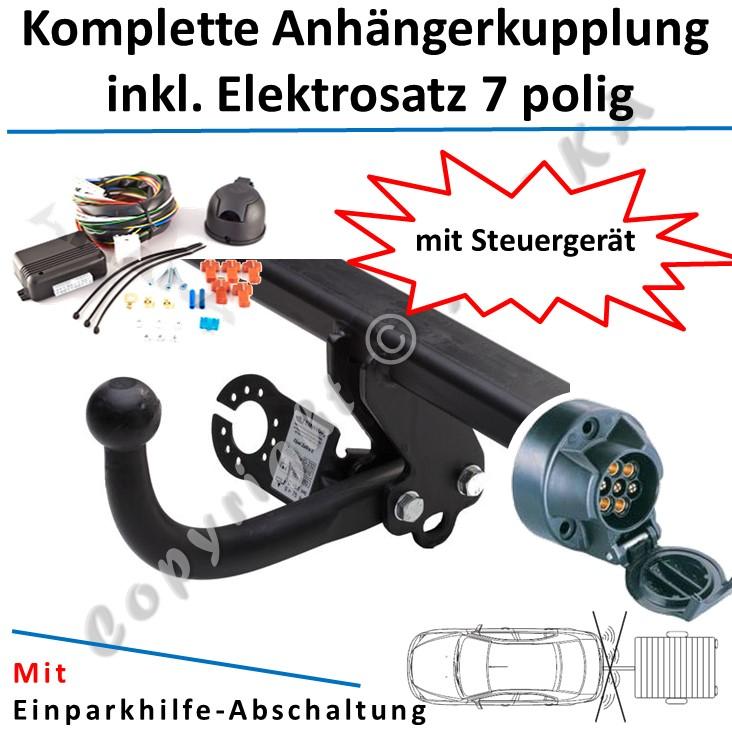 Anhängerkupplung starr Für Jeep GRAND CHEROKEE WJ//WG 1999-2005 E-SATZ 7-polig
