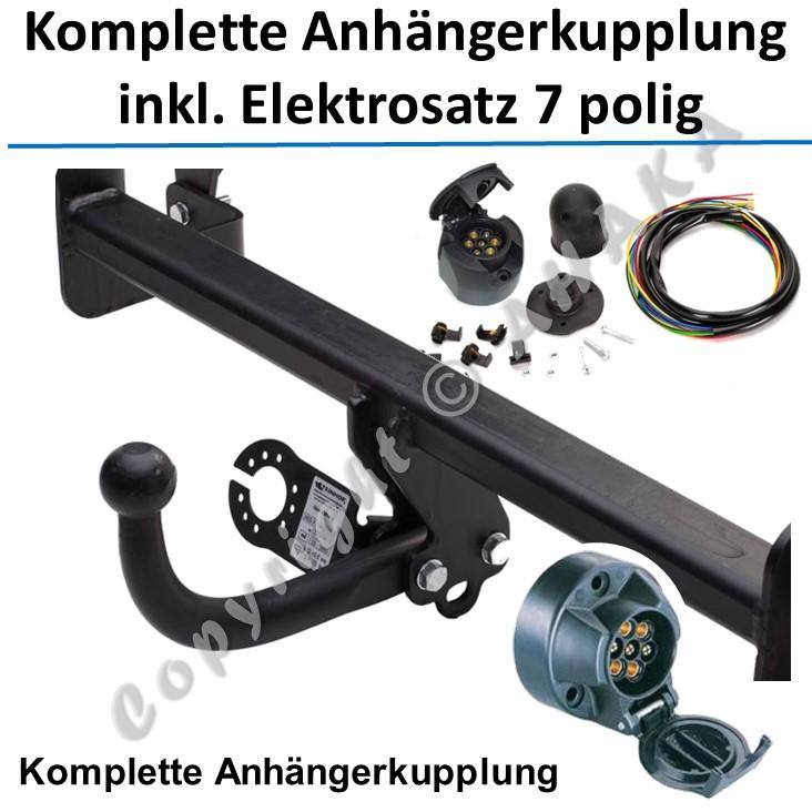 Anhängekupplung NEU Für Audi A4 B6//B7 Avant Kombi 01-08 abnehmbar