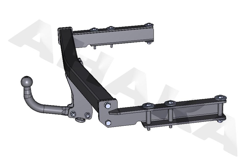 Brink Towbar for Audi A6 Avant Estate 1997-2005 Swan Neck Tow Bar