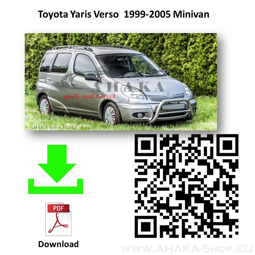 Anhängerkupplung für TOYOTA YARIS VERSO Bj. ab 1999 - 2006 - günstig online kaufen