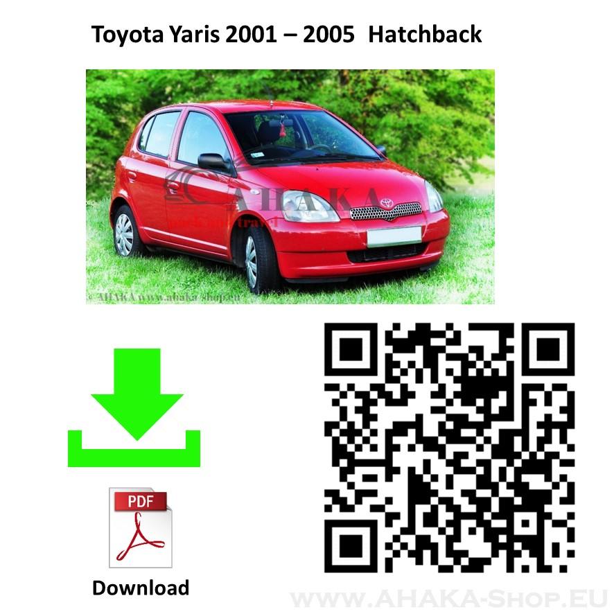 Anhängerkupplung für Toyota Yaris Schrägheck Bj. 1999 - 2005 - günstig online kaufen