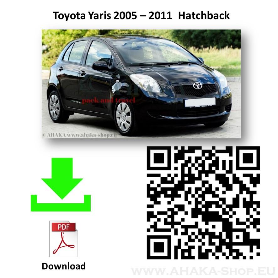 Anhängerkupplung für Toyota Yaris Schrägheck Bj. 2006 - 2011 - günstig online kaufen