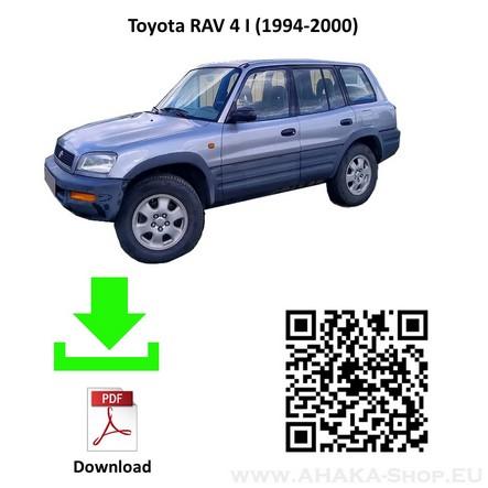 Anhängerkupplung für TOYOTA RAV-4 Bj. ab 1994 - 2000 - günstig online kaufen