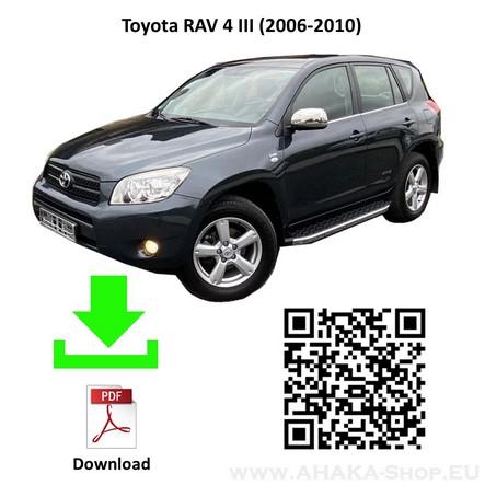 Anhängerkupplung für Toyota RAV-4 Bj. 2006 - 2010 - günstig online kaufen