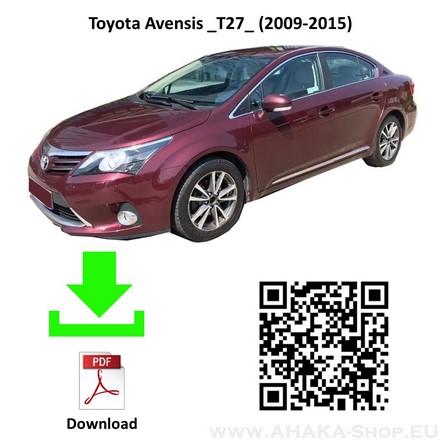 Anhängerkupplung für Toyota Avensis Stufenheck Bj. ab 2008 - günstig online kaufen