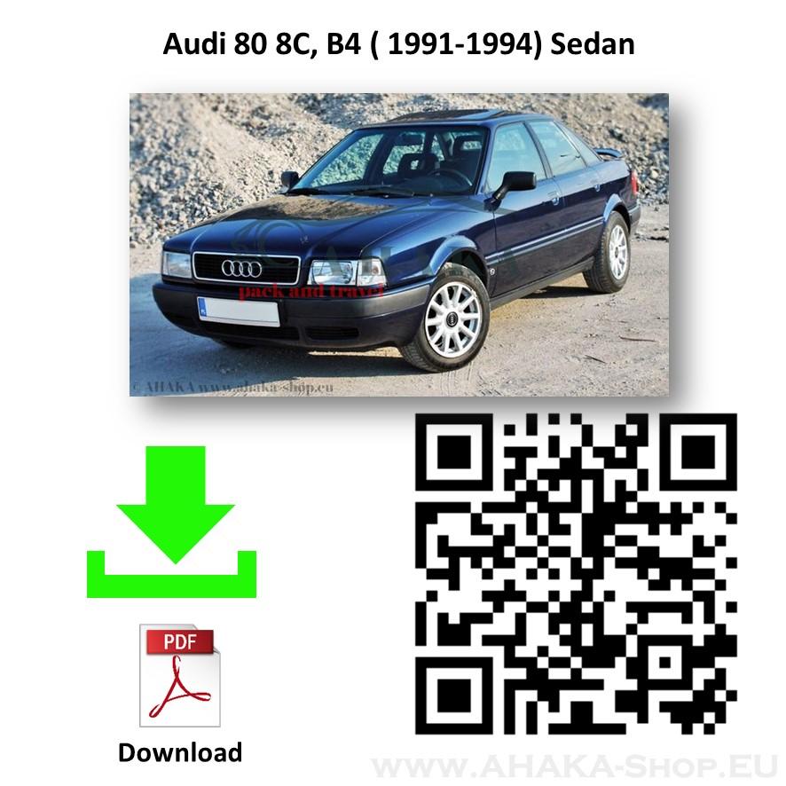 Anhängerkupplung für Audi 80 B4 Stufenheck, Avant, Kombi, Quattro Bj. 1991 - 1994 - günstig online kaufen