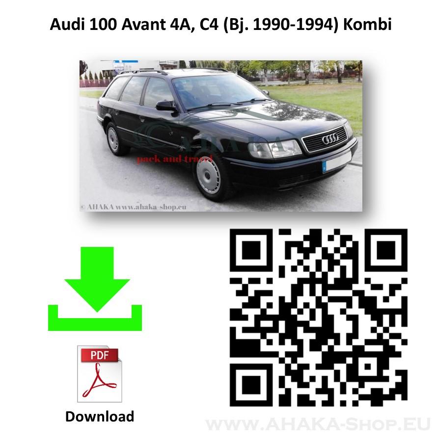 Anhängerkupplung für Audi 100 C4 Avant, Stufenheck, Limousine Kombi, Quattro Bj. 1990 - 1997 - günstig online kaufen