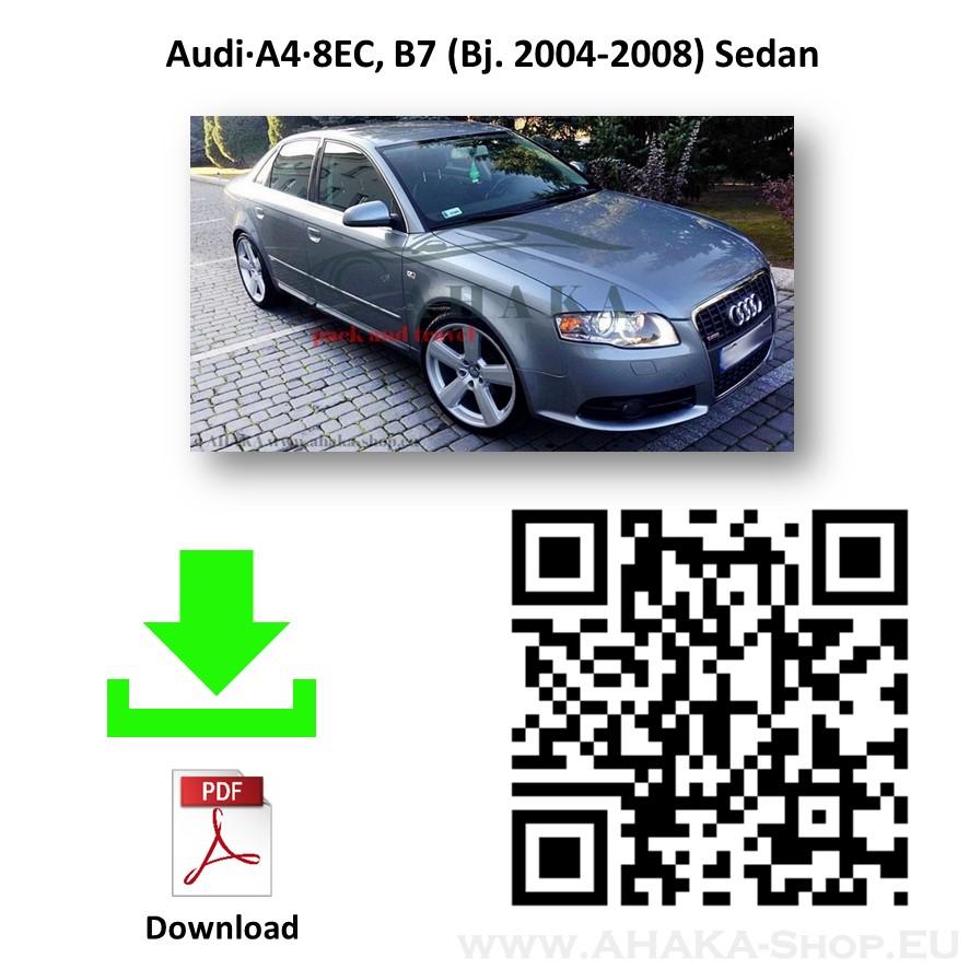 Anhängerkupplung für AUDI A4 B7 Stufenheck, Limousine, Avant, Kombi, Quattro Bj. ab 2004 - 2007 - günstig online kaufen