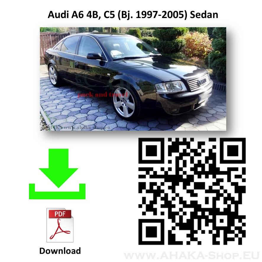 Anhängerkupplung für Audi A6 C5 Stufenheck, Limousine, Avant, Kombi, Quattro Bj. 1997 - 2004 - günstig online kaufen
