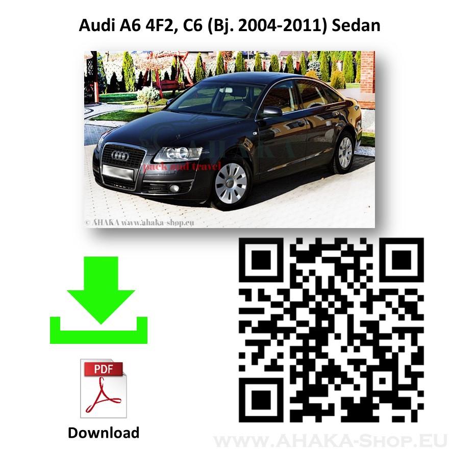 Anhängerkupplung für AUDI A6 C6 Stufenheck, Limousine, Kombi, Avant, Quattro Bj. ab 2004 - 2011 - günstig online kaufen