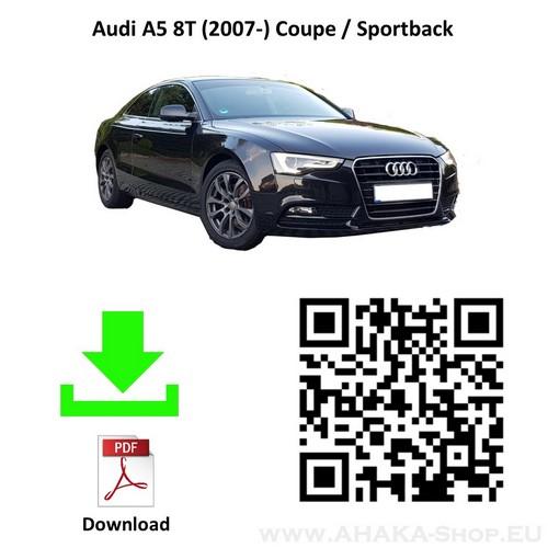 Anhängerkupplung für AUDI A5 8T Coupe Bj. ab ab 2007 - günstig online kaufen
