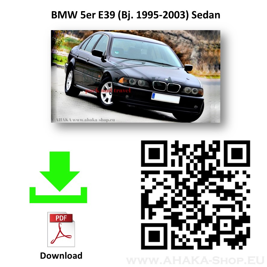 Anhängerkupplung für BMW Serie 5 E39 Stufenheck Bj. ab 2002 - 2003 - günstig online kaufen