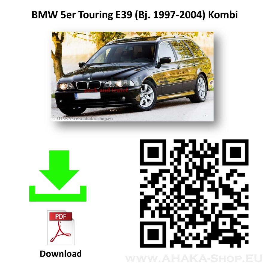 Anhängerkupplung für BMW Serie 5 E39 Touring Kombi Bj. 1997 - 2004 - günstig online kaufen