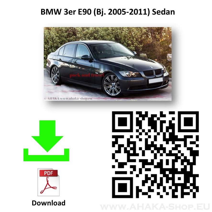 Anhängerkupplung für BMW Serie 3 E90 E91 Limousine, Stufenheck, Touring, Kombi Bj. 2005 - 2012 - günstig online kaufen
