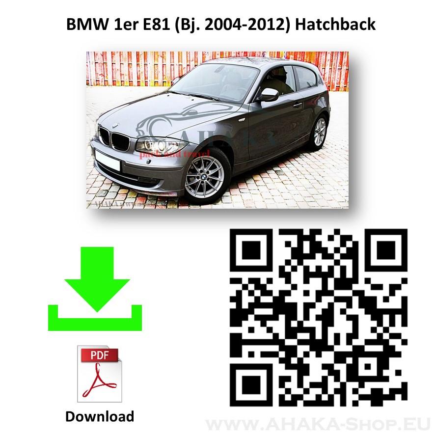 Anhängerkupplung für BMW Serie 1 E81 E82 E87 Schrägheck Bj. ab 2004 - 2011 - günstig online kaufen