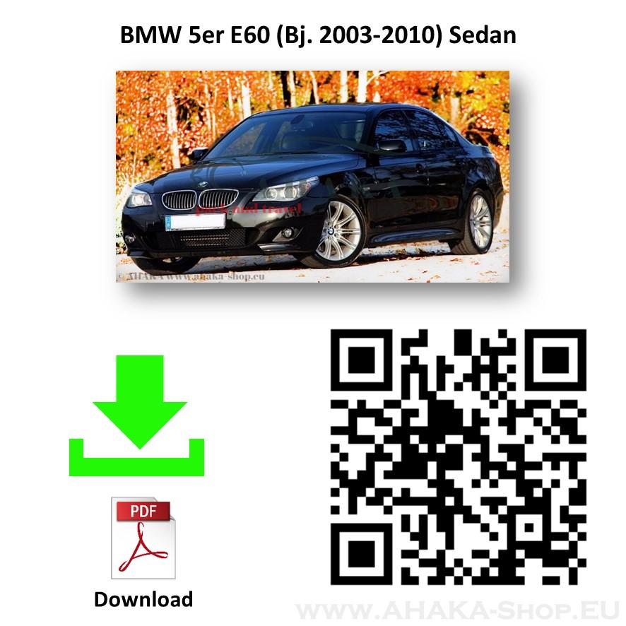 Anhängerkupplung für BMW Serie 5 E60 E61 Stufenheck, Limousine, Touring, Kombi Bj. ab 2003 - 2010 - günstig online kaufen