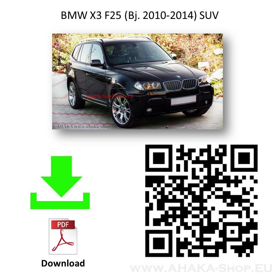 Anhängerkupplung für BMW X3 E83 Bj. 2004 - 2010 - günstig online kaufen