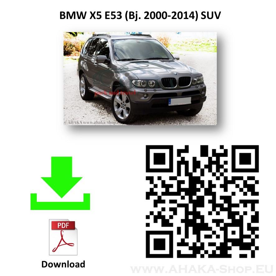 Anhängerkupplung für BMW X5 E53 Bj. ab 2000 - 2007 - günstig online kaufen