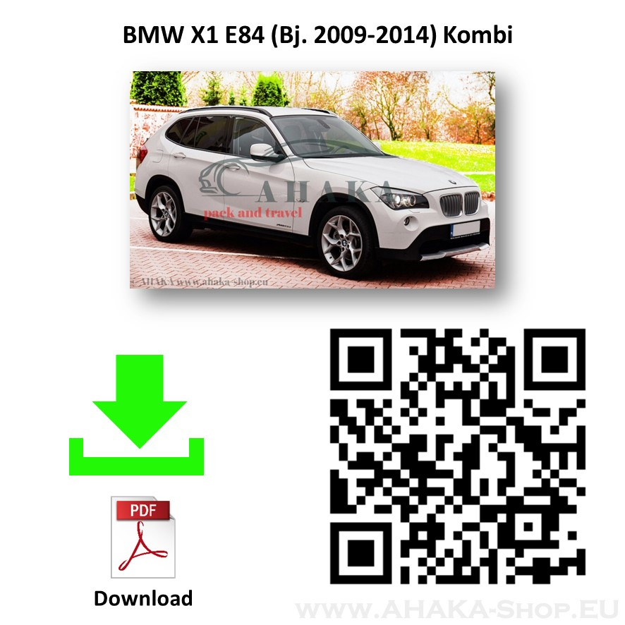 Anhängerkupplung für BMW X1 E84 Bj. 2009 - 2015 - günstig online kaufen
