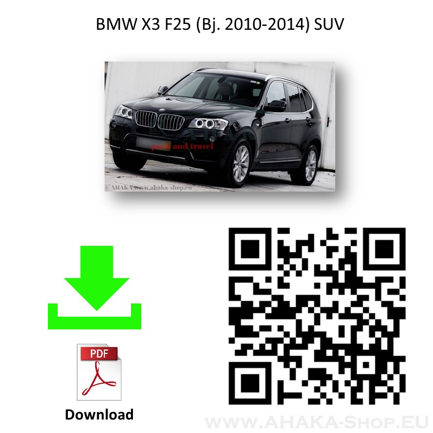 Anhängerkupplung für BMW X3 F25 Bj. 2010 - 2017 - günstig online kaufen