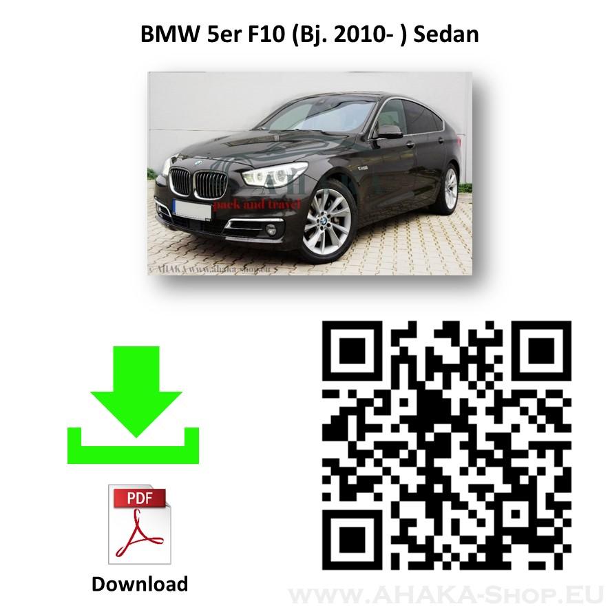 Anhängerkupplung für BMW Serie 5 F10 F11 Stufenheck, Touring, Kombi Bj. ab 2010 - günstig online kaufen