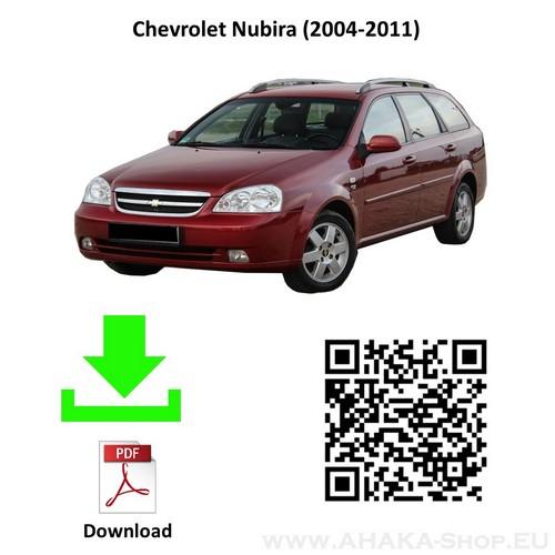 Anhängerkupplung für CHEVROLET NUBIRA Kombi Bj. ab 2004 - 2011 - günstig online kaufen
