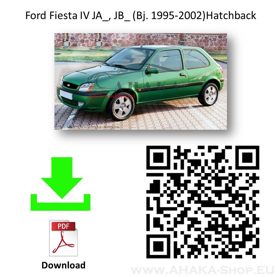 Anhängerkupplung für FORD FIESTA Schrägheck Bj. ab 1996 - 2002 - günstig online kaufen