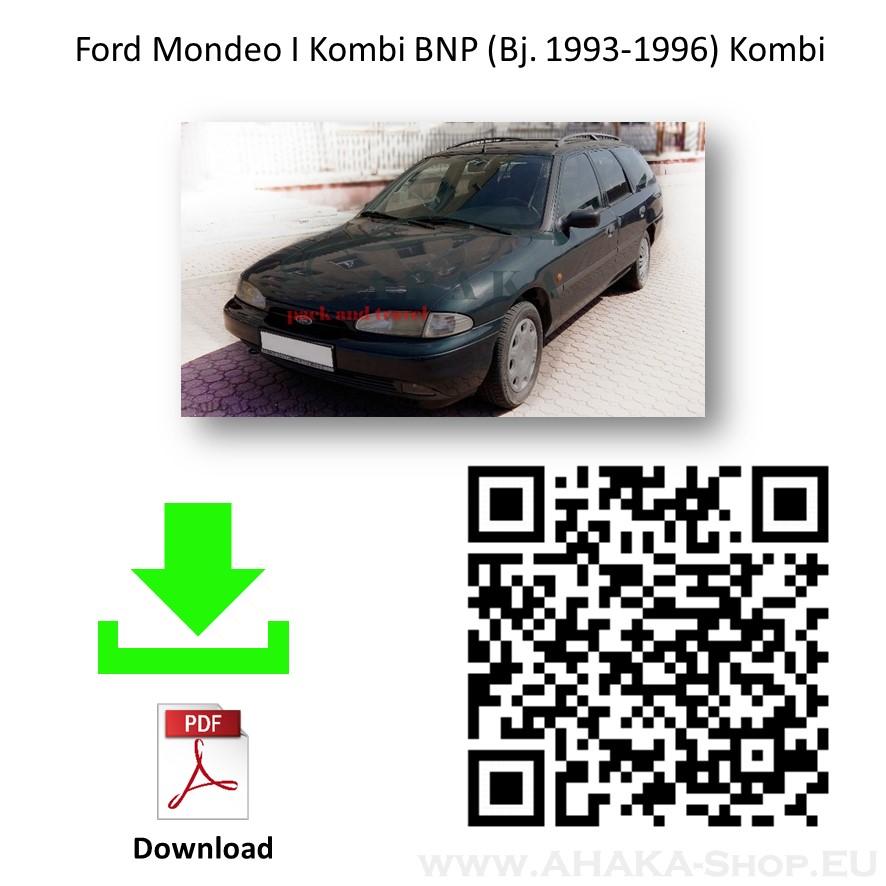 Anhängerkupplung für Ford Mondeo Turnier Kombi Bj. 1993 - 1996 - günstig online kaufen