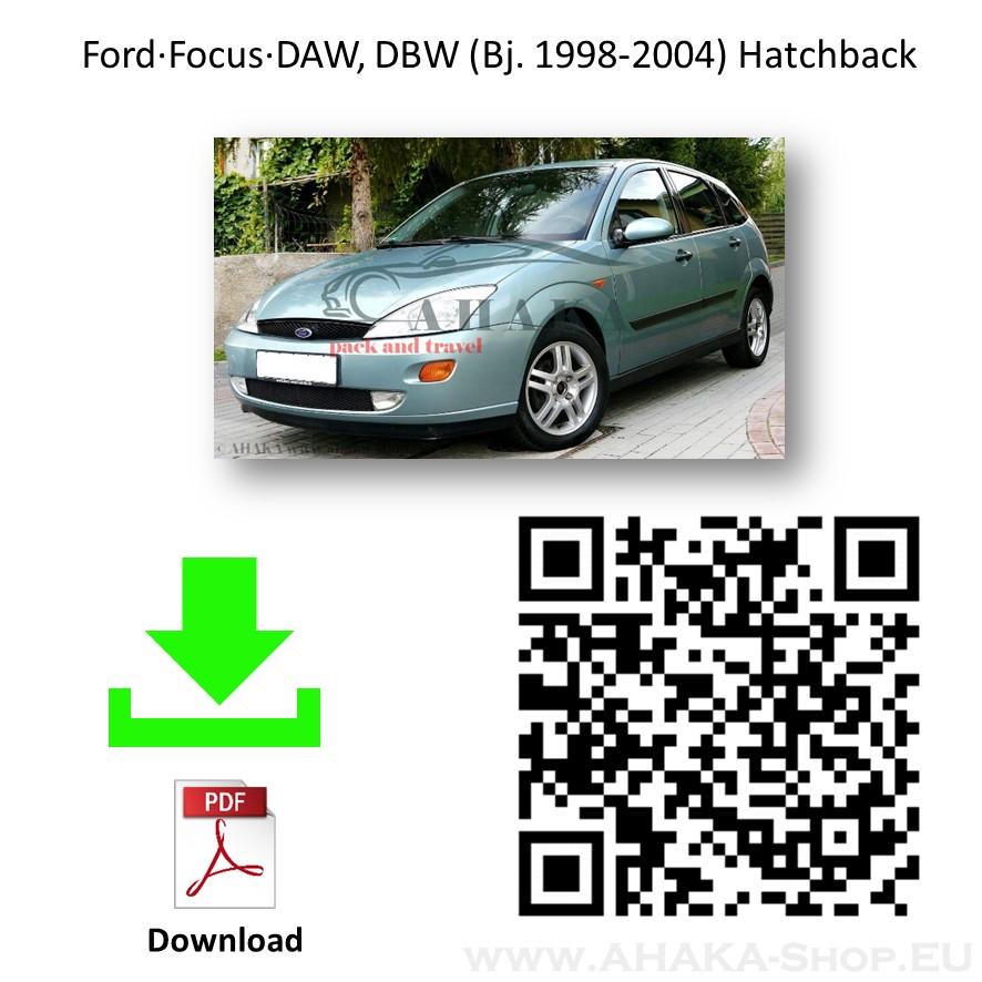 Anhängerkupplung für Ford Focus I Schrägheck Bj. 1998 - 2004 - günstig online kaufen
