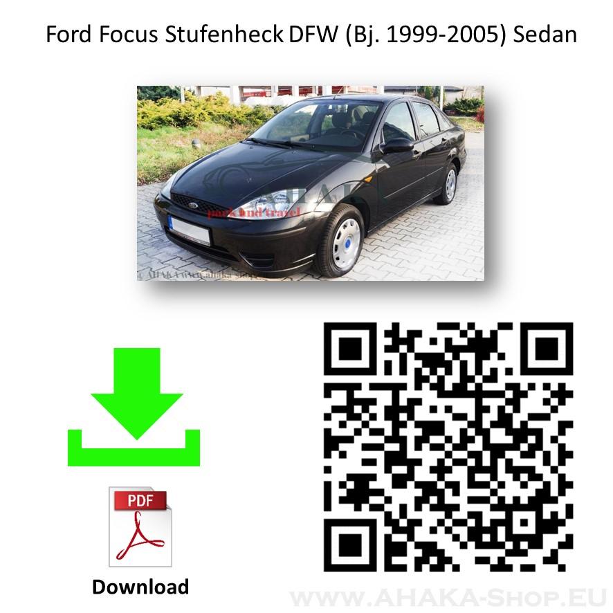 Anhängerkupplung für Ford Focus I Stufenheck Bj. 1999 - 2005 - günstig online kaufen