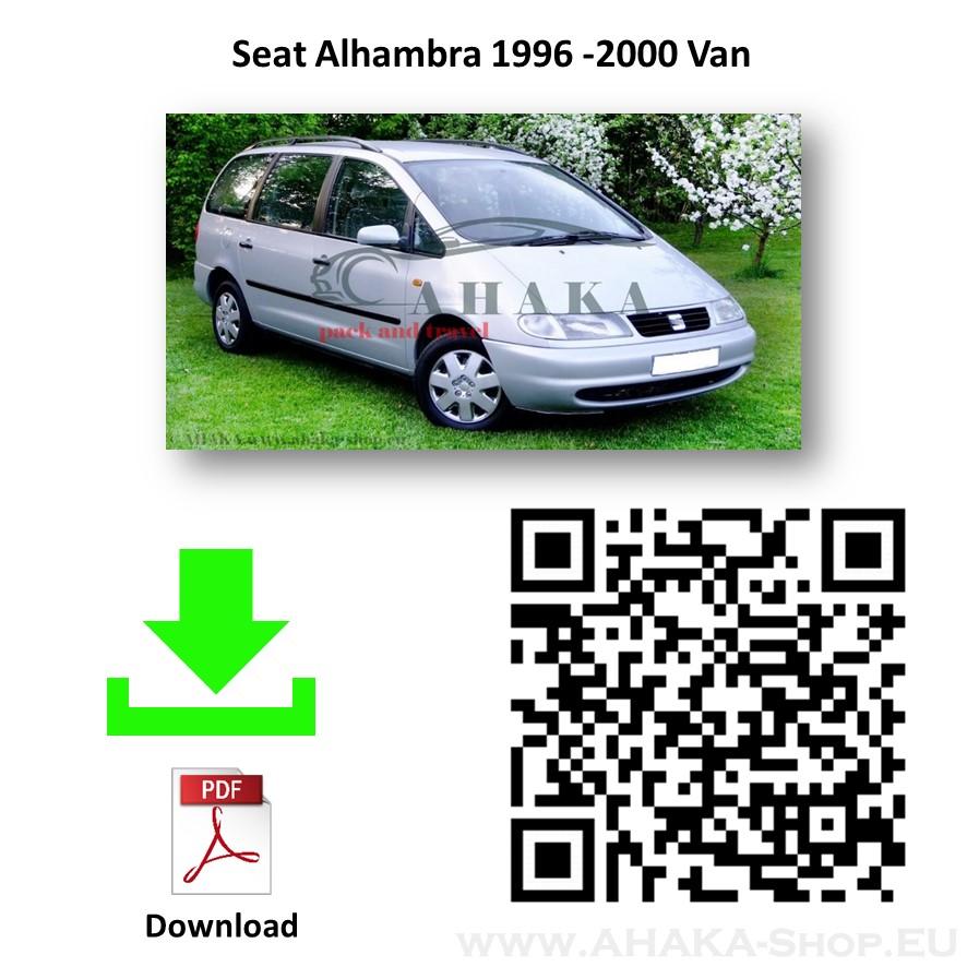Anhängerkupplung für Seat Alhambra Bj. 1996 - 2000 - günstig online kaufen