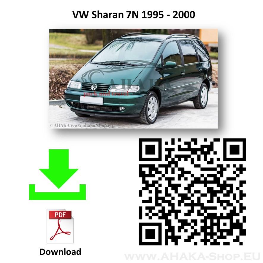 Anhängerkupplung für VW Volkswagen Sharan Bj. 1995 - 2000 - günstig online kaufen