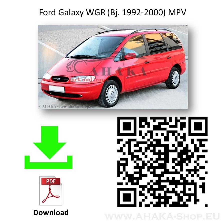 Anhängerkupplung für Ford Galaxy Bj. 1995 - 2000 - günstig online kaufen