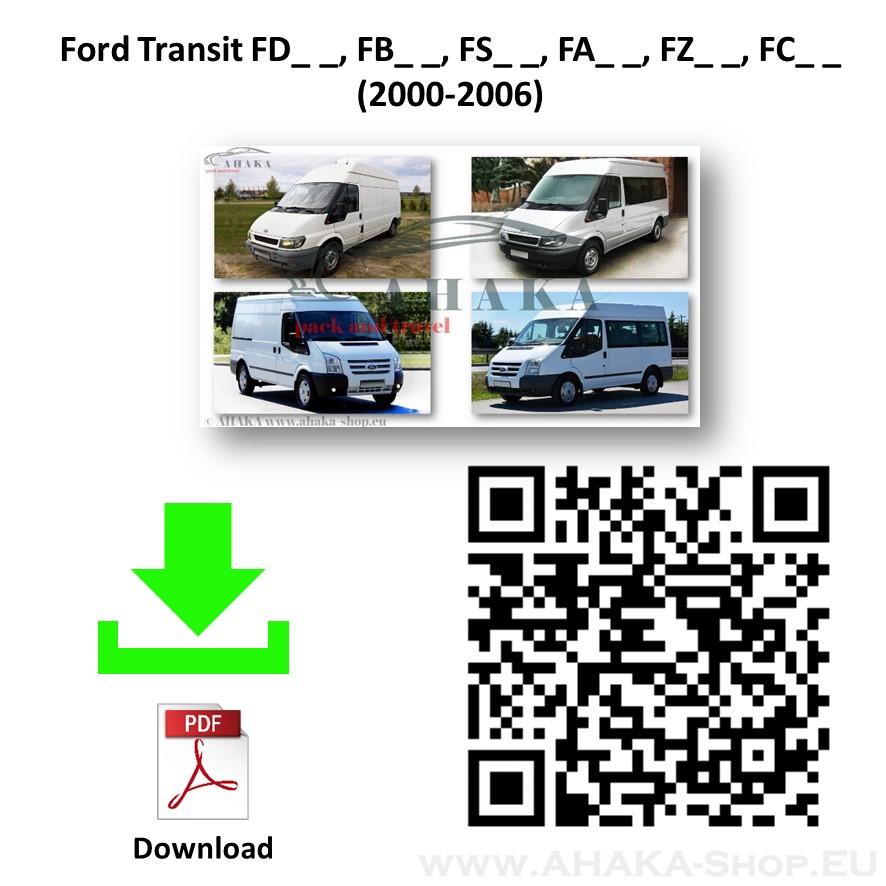 Anhängerkupplung für Ford Transit Bus, Kasten Bj. 2000 - 2014 - günstig online kaufen