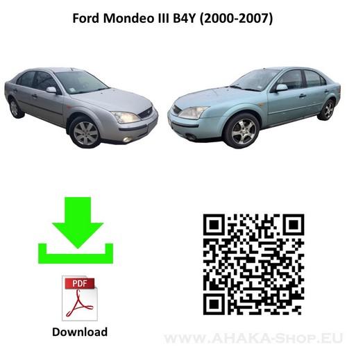 Anhängerkupplung für Ford Mondeo Schrägheck, Stufenheck Bj. 2000 - 2007 - günstig online kaufen