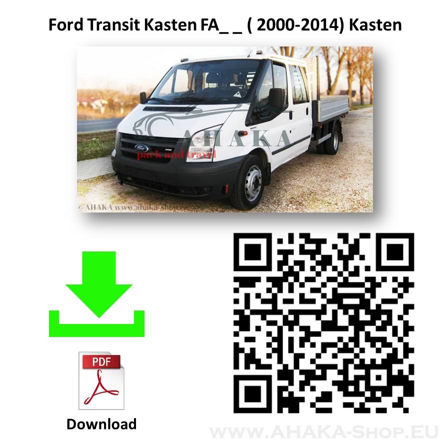 Anhängerkupplung für FORD TRANSIT Pritsche Bj. ab 2000 - 2014 - günstig online kaufen