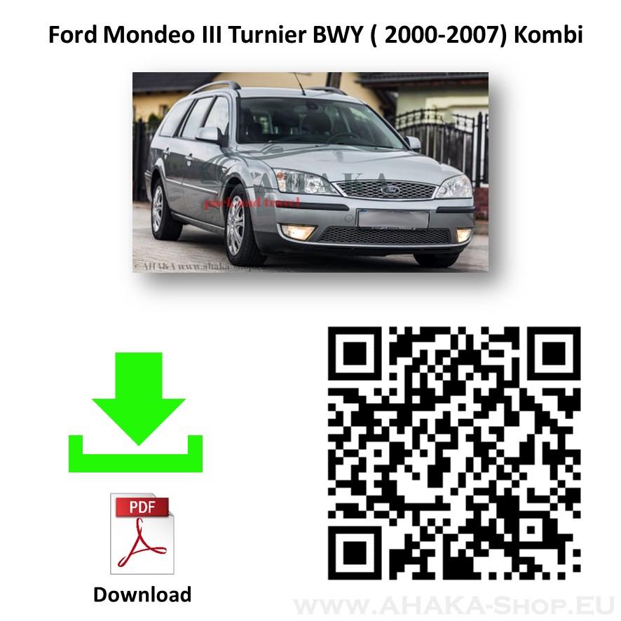Anhängerkupplung für FORD MONDEO Turnier Kombi Bj. ab 2001 - 2007 - günstig online kaufen