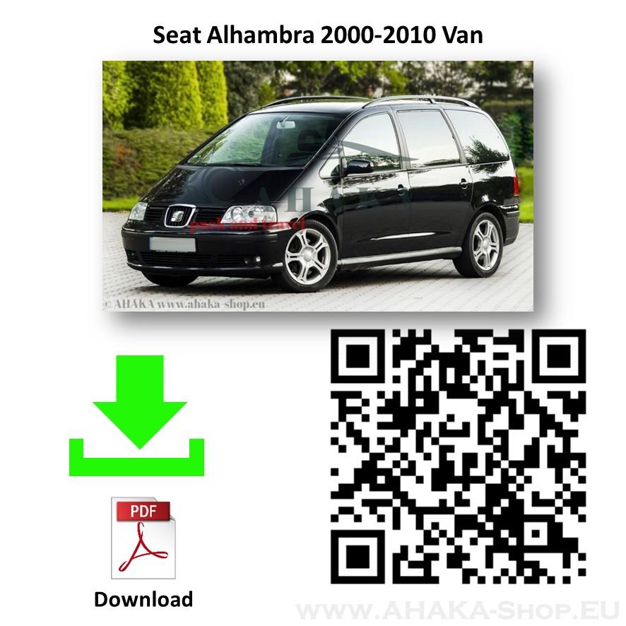 Anhängerkupplung für Seat Alhambra Bj. 2000 - 2010 - günstig online kaufen
