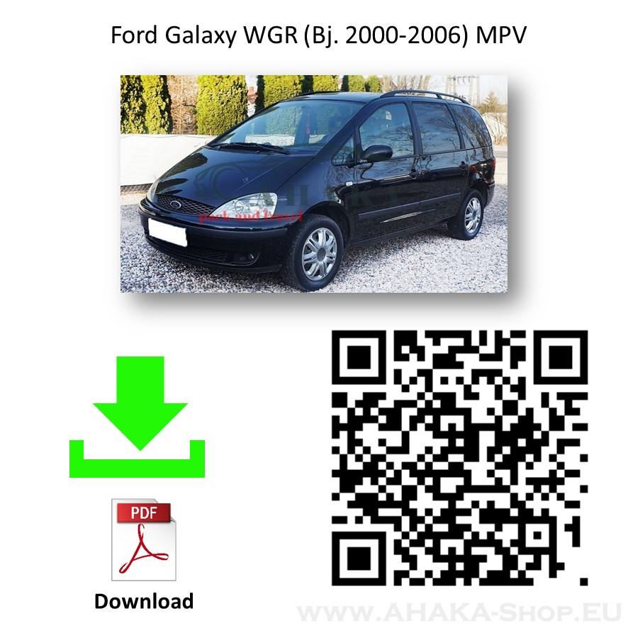 Anhängerkupplung für FORD GALAXY Bj. ab 2000 - 2006 - günstig online kaufen