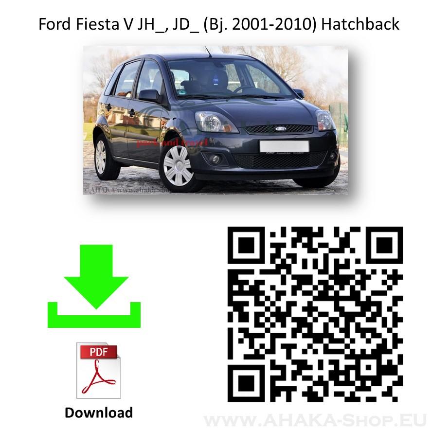 Anhängerkupplung für Ford Fiesta Schrägheck Bj. 2005 - 2008 - günstig online kaufen