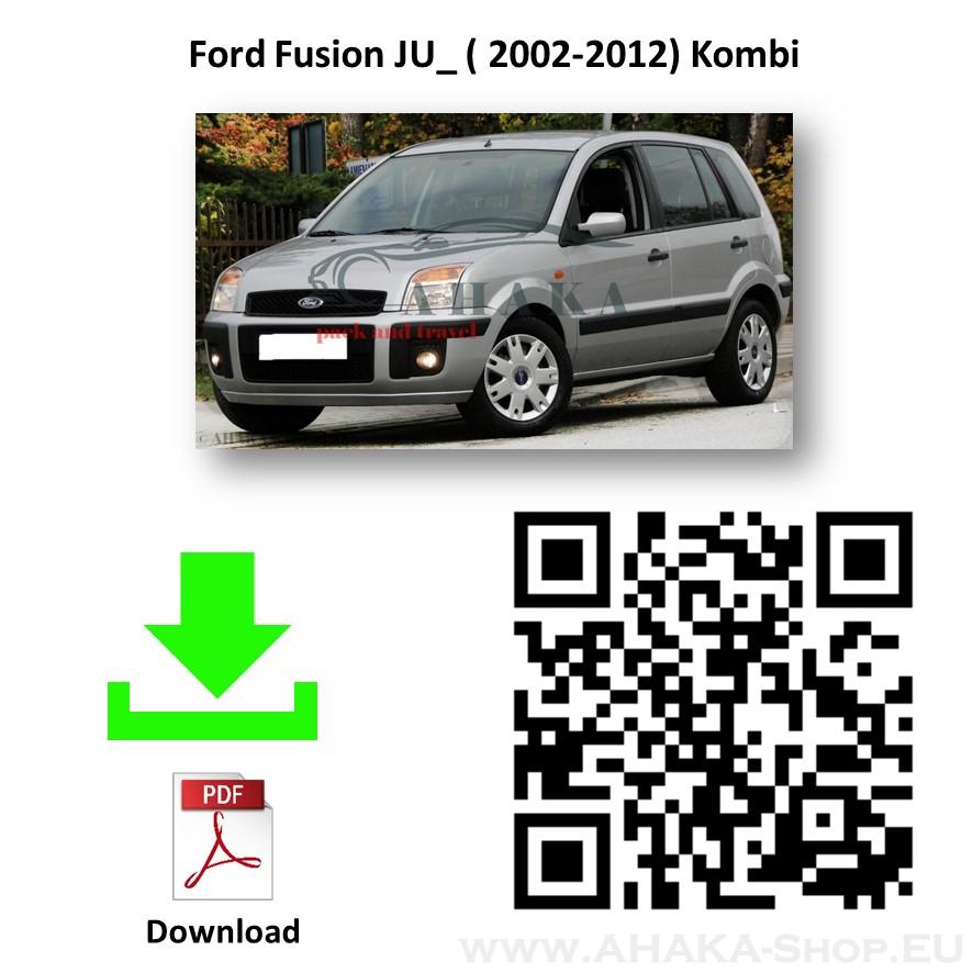 Anhängerkupplung für Ford Fusion Bj. ab 2002 - günstig online kaufen