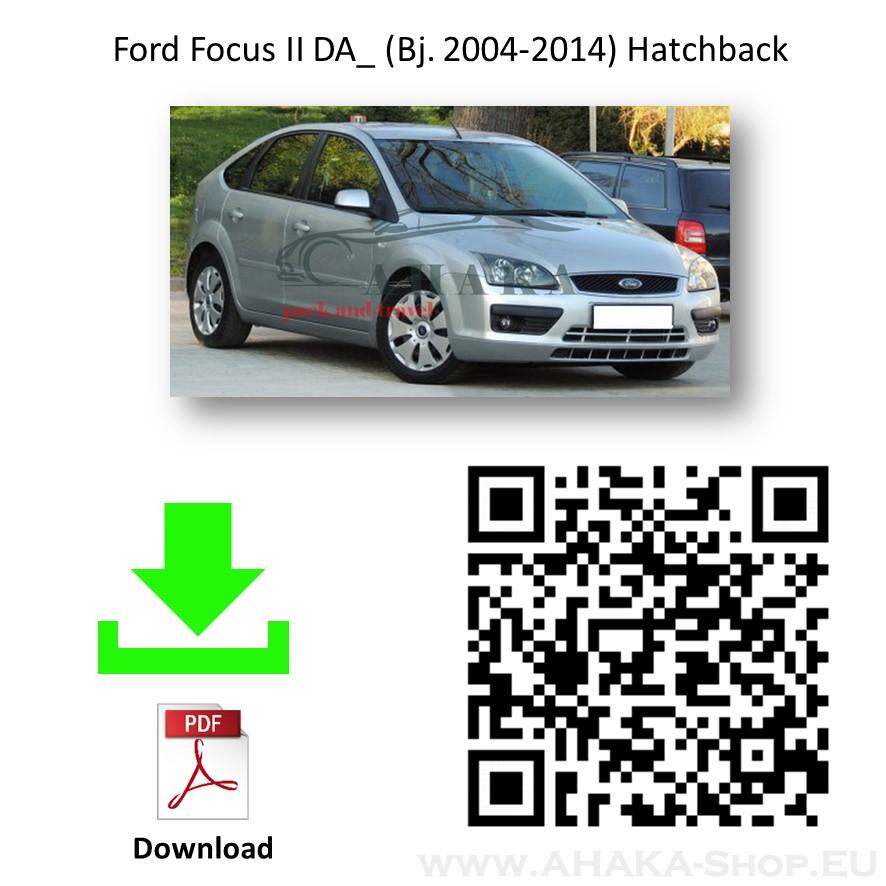 Anhängerkupplung für Ford Focus II Schrägheck Bj. 2004 - 2011 - günstig online kaufen