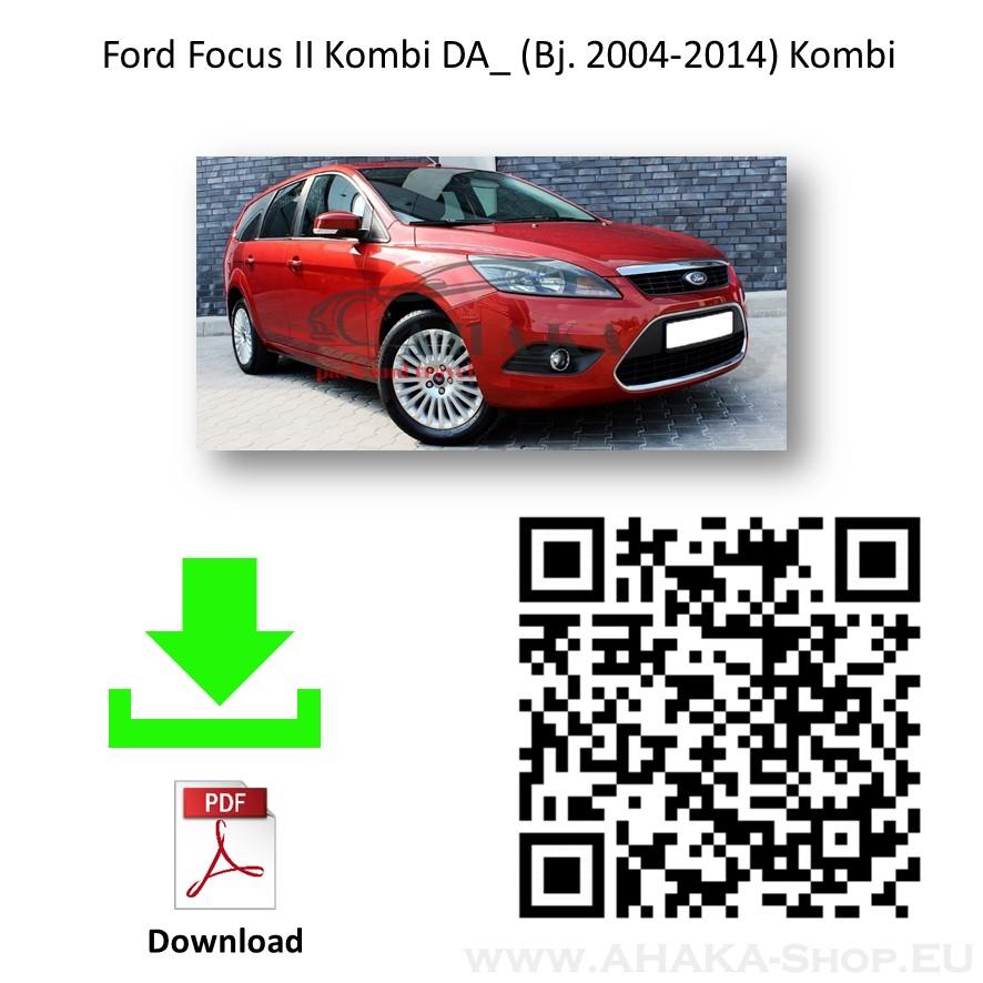 Anhängerkupplung für Ford Focus II Turnier Kombi Bj. 2005 - 2011 - günstig online kaufen