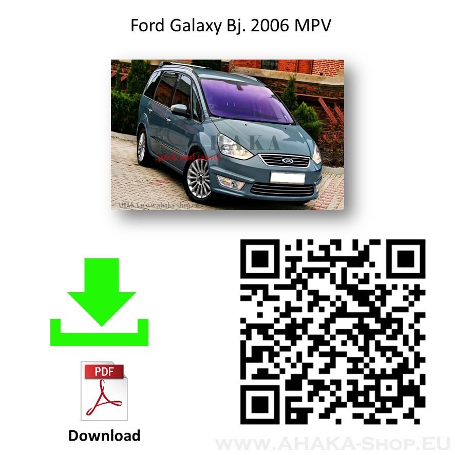 Anhängerkupplung für Ford Galaxy III Bj. 2006 - 2015 - günstig online kaufen