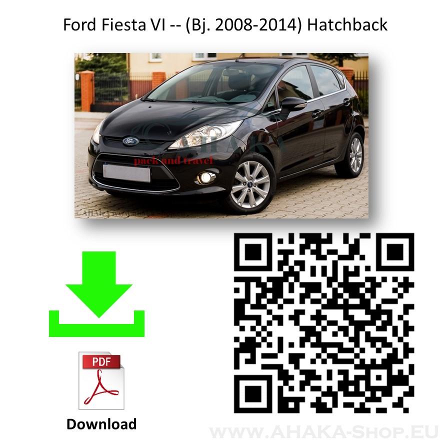 Anhängerkupplung für Ford Fiesta Schrägheck Bj. 2008 - 2013 - günstig online kaufen