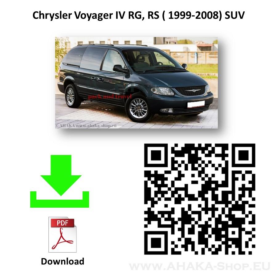 Anhängerkupplung für CHRYSLER VOYAGER Bj. ab 2001 - 2008 - günstig online kaufen